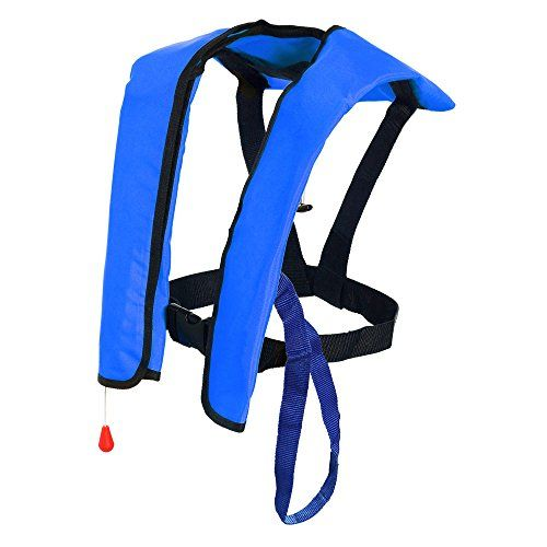 Premium Quality Automatic  Manual Inflatable Life Jacket Lifejacket PFD Floating Life Vest Inflate Survival Aid Lifesaving PFD Basic NEW * See this great product.Note:It is affiliate link to Amazon.