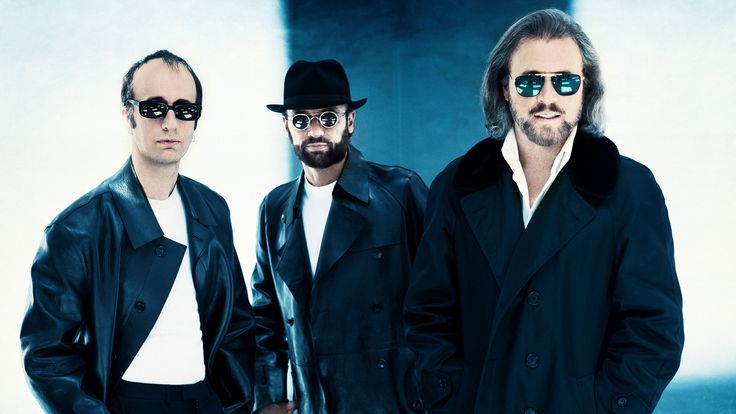 The Bee Gees. Creators of some great hits, and still active in the music/entertaining business. The 3 men are playing pop music. The biggest hit of the BG's is Stayin' Alive. The song is recognized all over Australia, and all over the world as well.