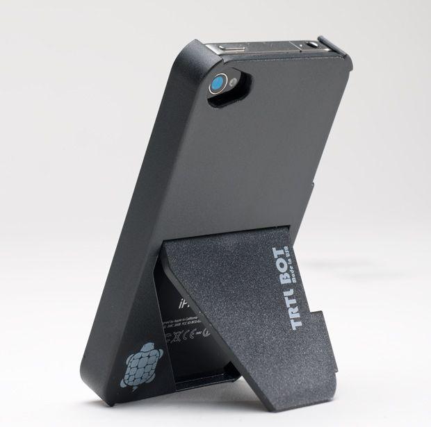 Trtl Bot Trtl Stand 4 iPhone 4 Case Review   Mac Life