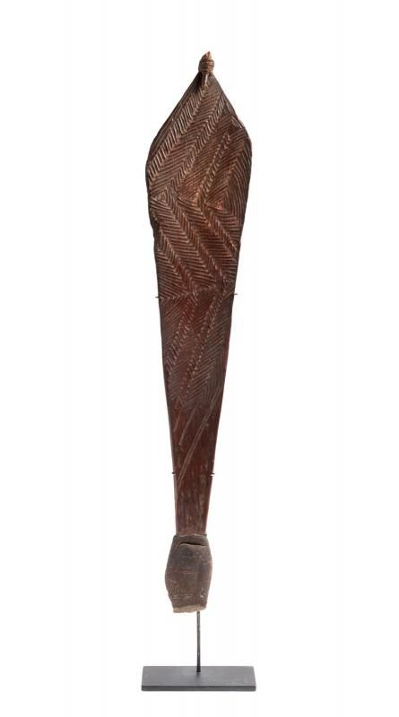 An Early Spearthrower (womera).  The Marc and Elena Pinto's Private Collection.      Oceanic - Aboriginal and Indonesian Tribal Art        Catalog now online.    mossgreen.com.au