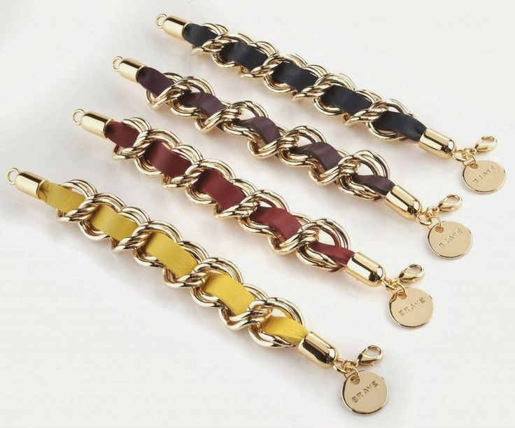 Brave Leather Ladies Loki Bracelets I want one in every colour!