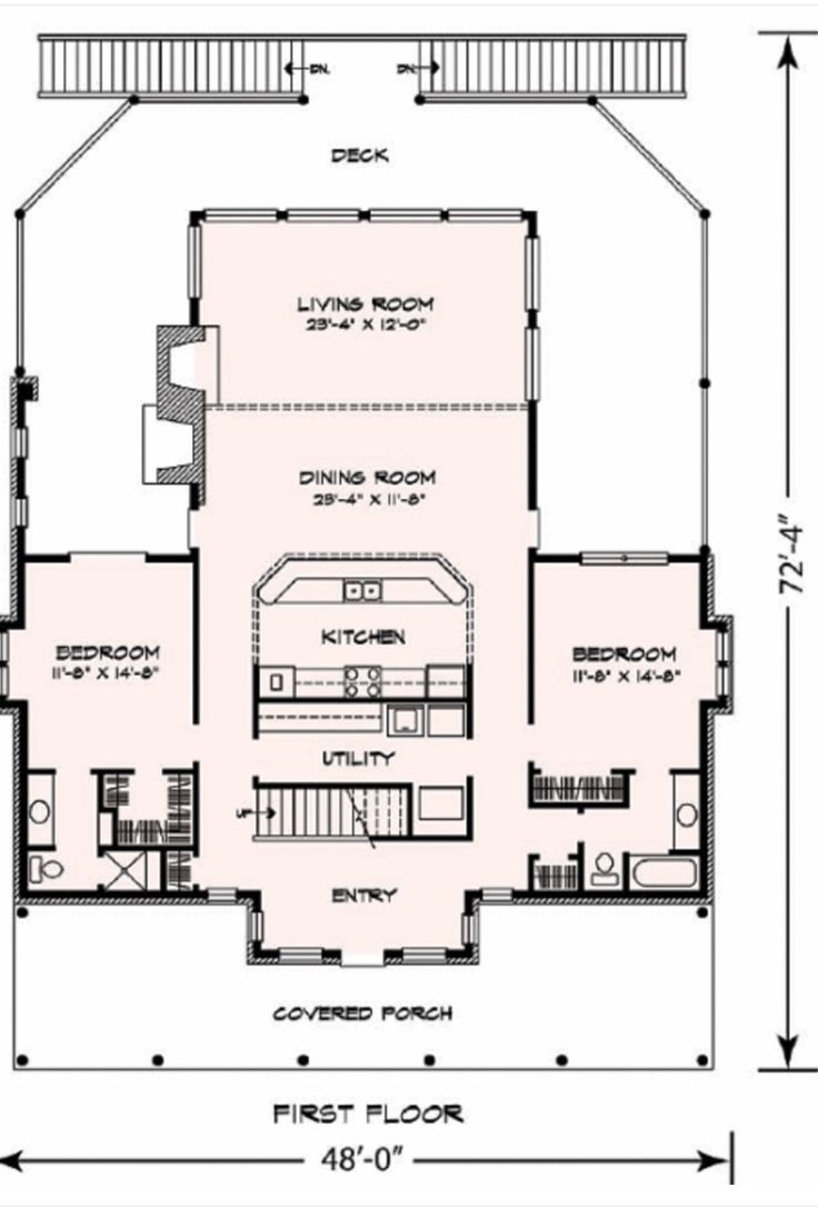 24 best house designs images on pinterest small home for Small house plans with basement and garage