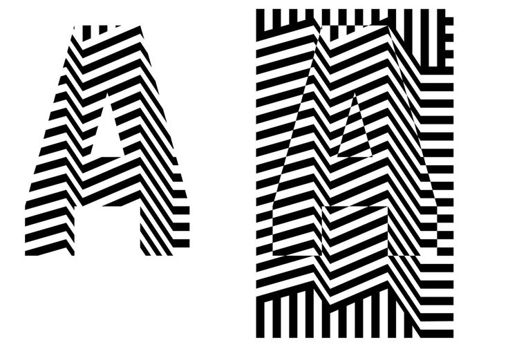 Razzle Dazzle Type System. dazzletype.com  Razzle Dazzle is a dynamic display typeface, inspired by dazzle painting, a ship camouflage used ...