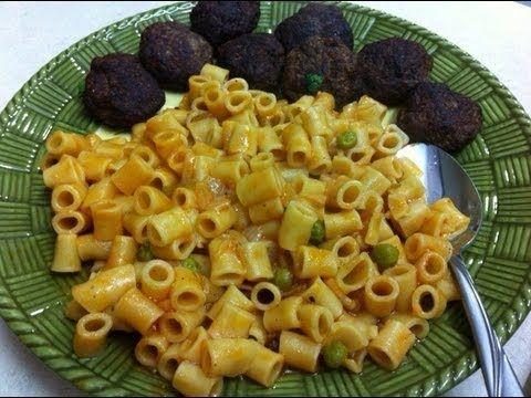 طريقه عمل كفته البطاطس مع مكرونه  How to make Potato Meatball & Macaroni
