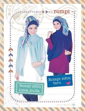 #Rompi Sifon, Stylish & girly