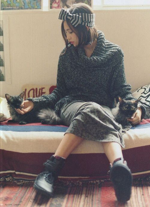 Kiko Mizuhara やっぱりkikoちゃんのファッションセンスはあか抜けていますね♪