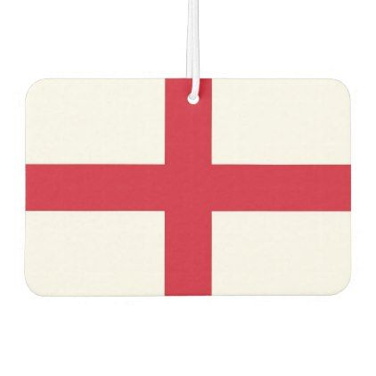 Car Air Fresheners with Flag of England - elegant gifts gift ideas custom presents