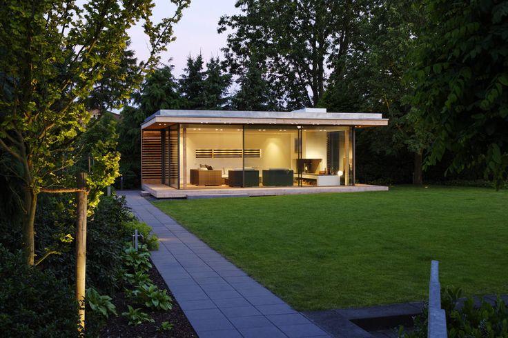 Moderner Gartenpavillion im nördlichen Ruhrgebiet : Jardines modernos de Stockhausen Fotodesign