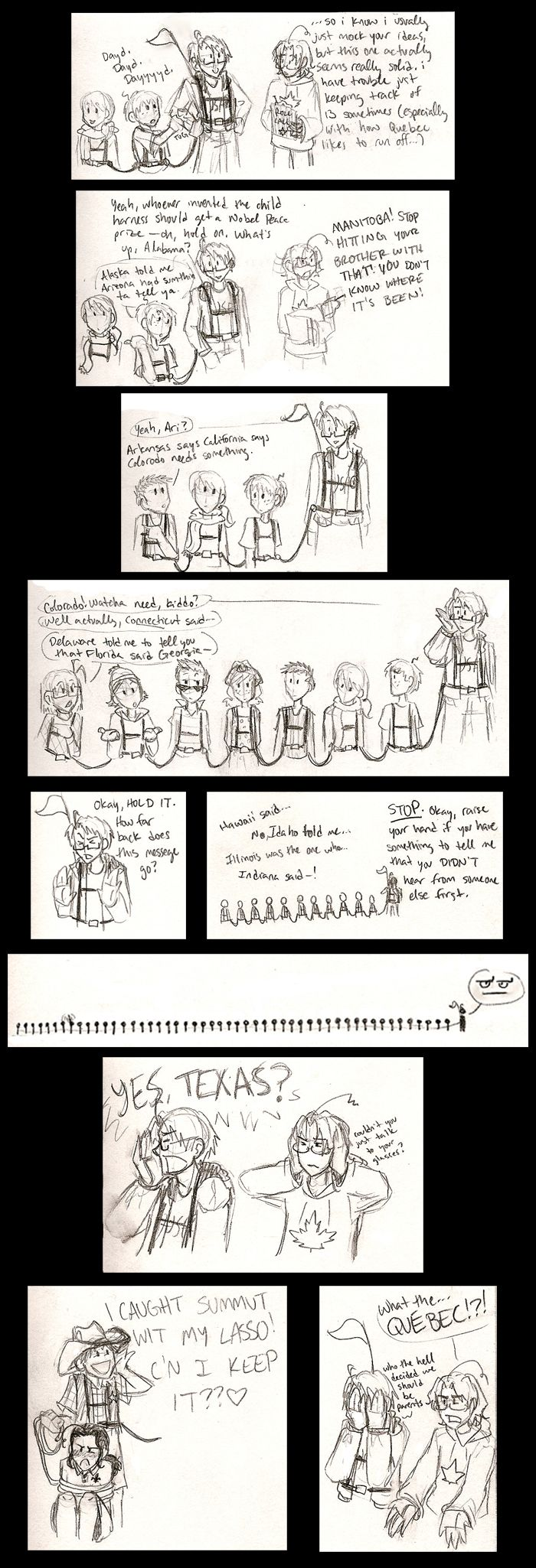 """where's the nearest orphanage by Dakt37 on deviantART .... I take that as a """"No?"""". This is AMAZING"""
