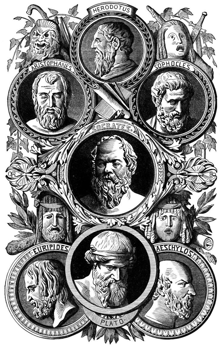The ancient Greek writers who influenced the world.