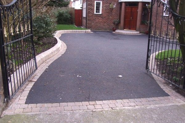 tarmac driveways with block paviours - Google Search