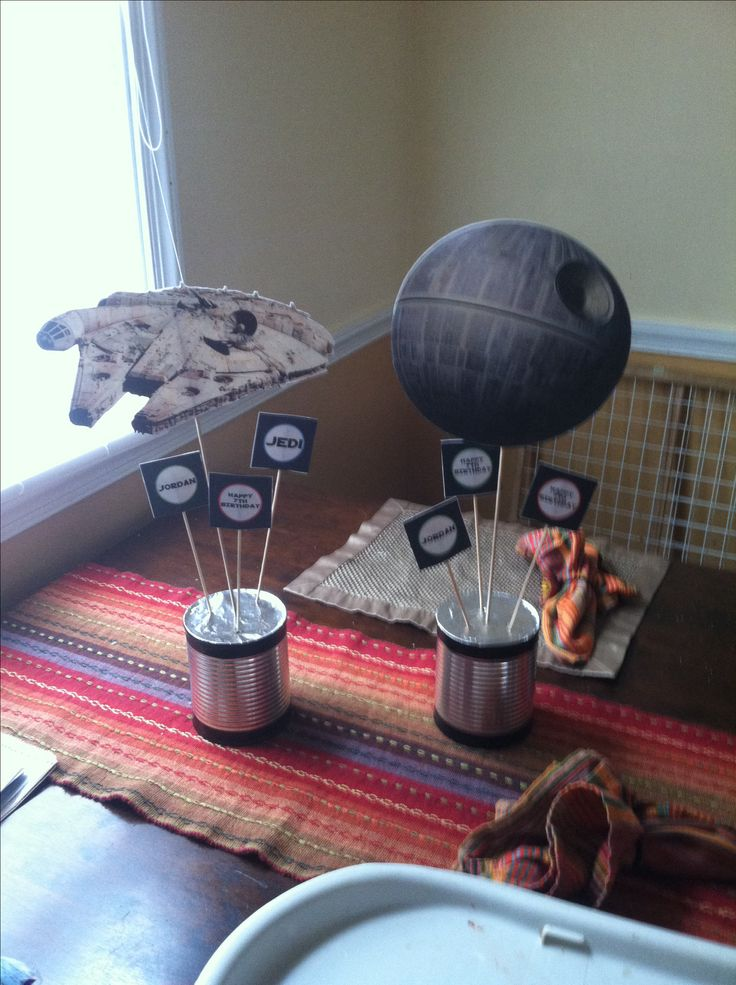 Star Wars centerpieces