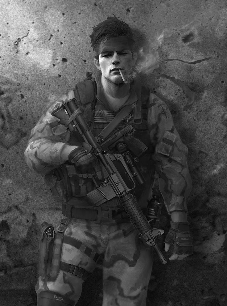 Metal Gear Online Concept Art, Jordan Lamarre-Wan on ArtStation at https://www.artstation.com/artwork/xmbWX