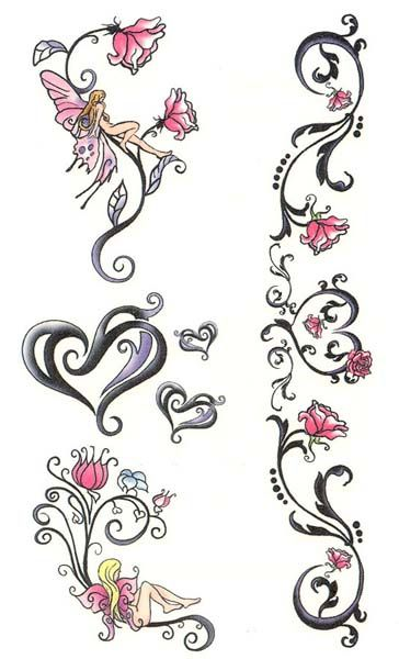 Hearts/Flowers/Fairy