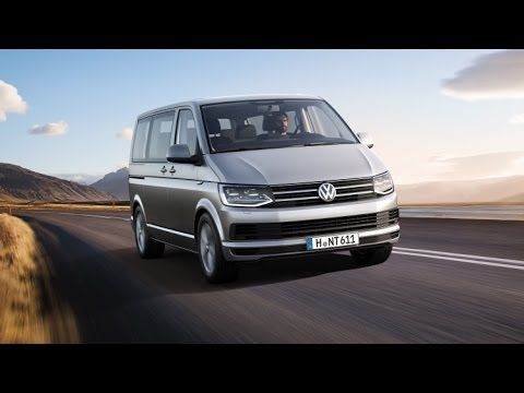 New 2015 Volkswagen Transporter T6 revealed