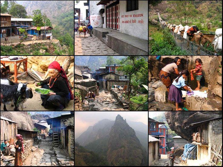 Le Nepal - Tours des Annapurnas