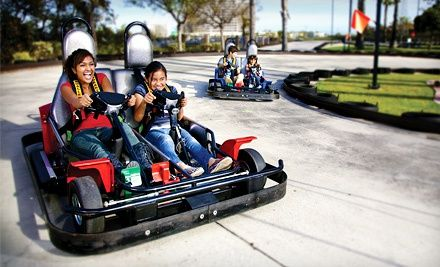 Groupon - All-Day Mini-Golf and Go-Karts for Two or Four at Malibu or Mountasia (Up to 51% Off). Groupon deal price: $25.00