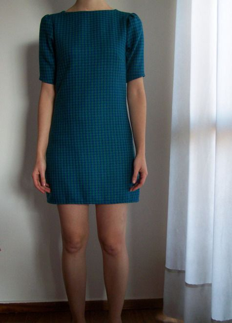 60's dress by alexandra pattern and instructions-like the button closure on the back but might try it without the sleeves and a slighty lower neckline at the front