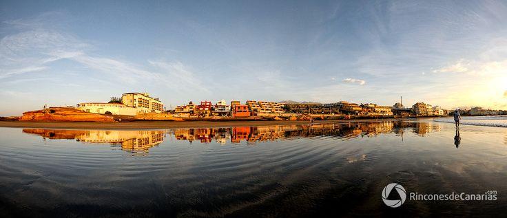 El Medano. Santa Cruz de  Tenerife. Copyright © rinconesdecanarias.com