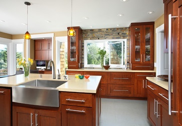 Best 149 Best Natural Wood Kitchens Images On Pinterest 400 x 300