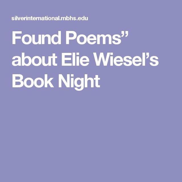 Novel night by elie wiesel essay