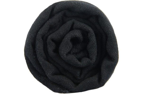 0e53df0567f1 Magnifique écharpe en cachemire noire homme et femme. Une grande écharpe  pashmina 100 % laine