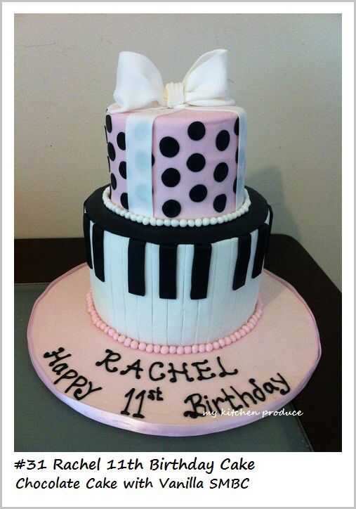 Best Cute Bday Cake Ideas Images On Pinterest Th Birthday - 11th birthday cake ideas