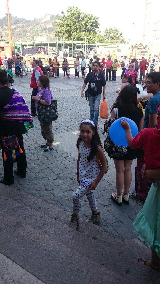 Centro cultural Estación Mapocho Baile Nortino