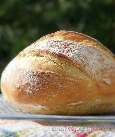 Домашний Пшеничный Хлеб: 5 минут в день