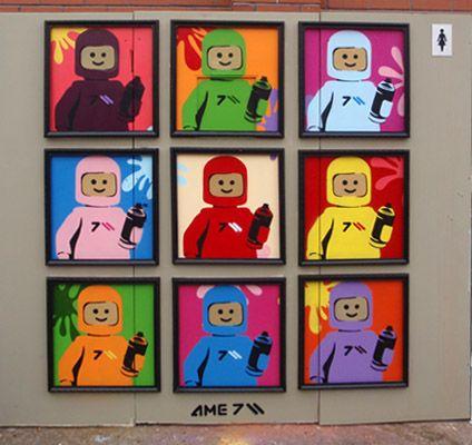 Lego Wall Art 45 best lego street art images on pinterest | legos, 3d street art