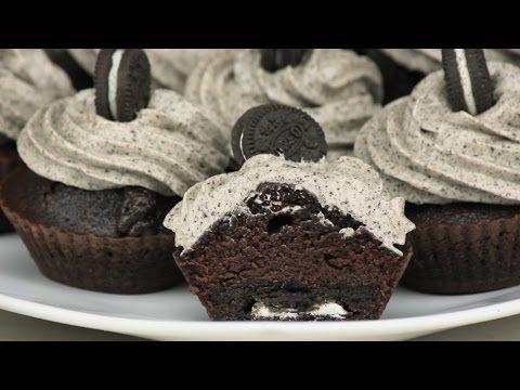 Cupcakes με OREO | FOOD VIDEOs - YouTube