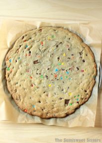 Giant Chocolate Chip M&M Soft Cookie Recipe