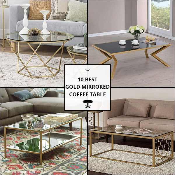 Gold Mirrored Coffee Table Coffee Table Mirrored Coffee Tables Table