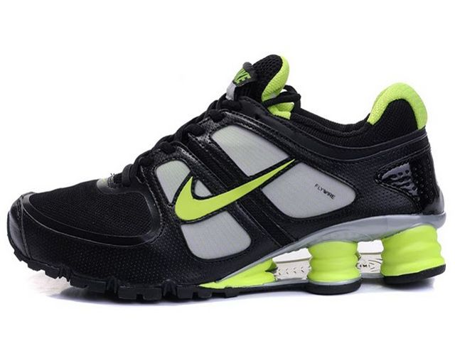 Chaussures Nike Shox Turbo Noir/ Vert [nike_12451] - €49.97 : Nike Chaussure Pas Cher,Nike Blazer and Timerland  http://www.facebook.com/pages/Chaussures-nike-originaux/376807589058057  http://www.topchausmall.com/