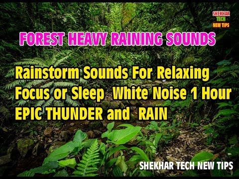 Heavy Thunder and Rain Sounds for Sleeping | Meditation,Studying,Soothing,Relaxation, Thunder 1 Hour - (More info on: https://1-W-W.COM/meditation/heavy-thunder-and-rain-sounds-for-sleeping-meditationstudyingsoothingrelaxation-thunder-1-hour/)
