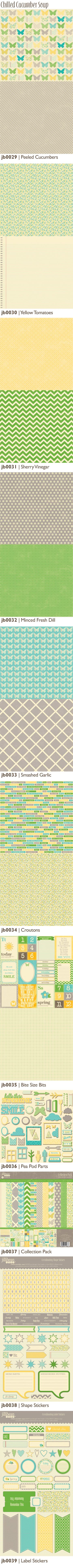 another brand new collection: ChilledCucumberSoup_JillibeanSoup So dreamy and versatile, can use for my son or daughter!
