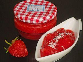 Erdbeermarmelade mit Kokosmilch, ein beliebtes Rezept aus der Kategorie Haltbarmachen. Bewertungen: 76. Durchschnitt: Ø 4,4.
