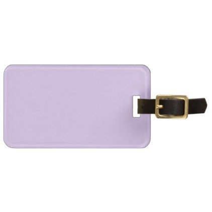 baby lilac luggage tag - baby gifts child new born gift idea diy cyo special unique design