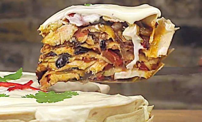Hill Country Layered Fajita Cake, An Incredible Entree