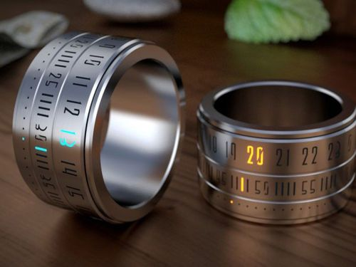 Porter votre montre comme une bague, le concept Ring Clock