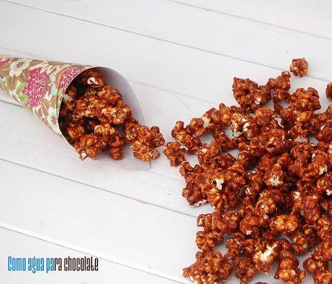 Palomitas Con Caramelo Salado. Crean AdiccióN!!!