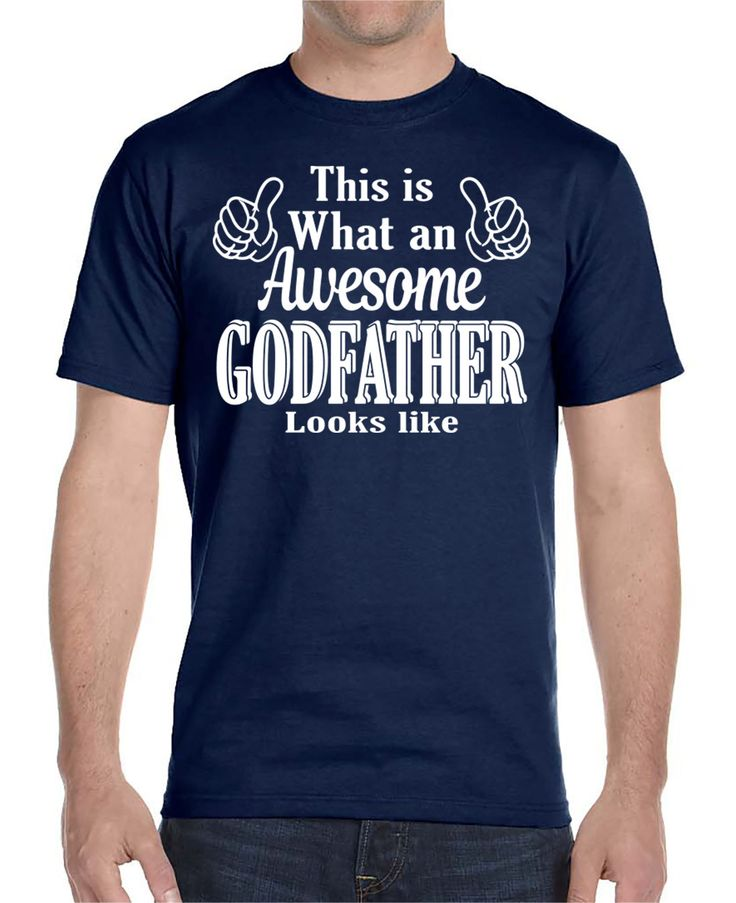This Is What An Awesome Godfather Looks Like - Unisex T-Shirt Godfather Shirt…
