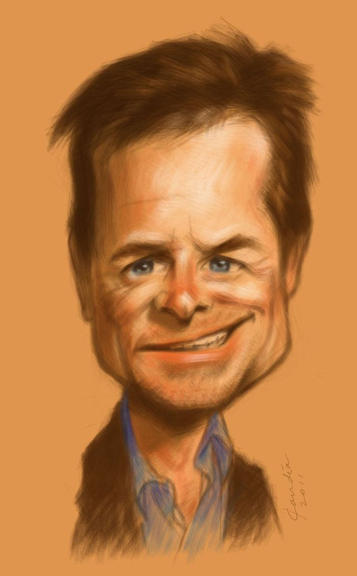 MICHAEL J. FOX ~ By StudioCandia (on deviantART) _____________________________ Reposted by Dr. Veronica Lee, DNP (Depew/Buffalo, NY, US)