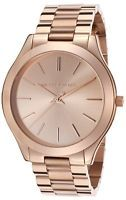 Michael Kors Slim Runway Rose Gold-Tone Ladies Watch MK3197