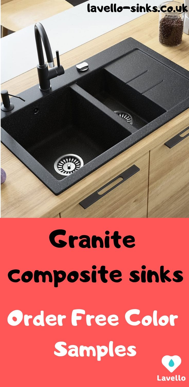 78cm Granite Composite Drop In Double Bowl Kitchen Sink With Drainboard Lavello Luxor 1 5s Sink Granite Composite Sinks Composite Sinks