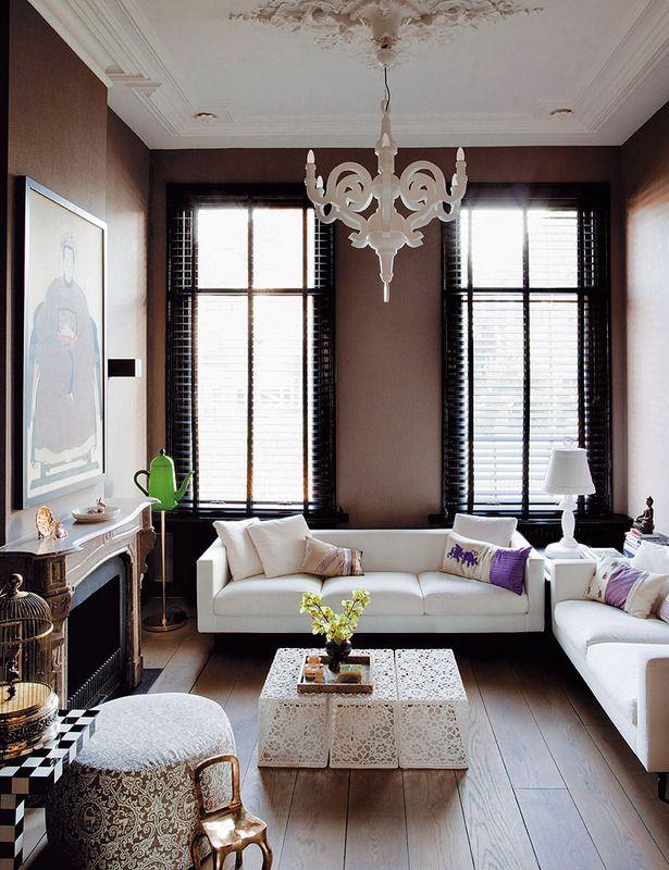 Dutch Contemporary | Interior Design Files  Love the coffee table