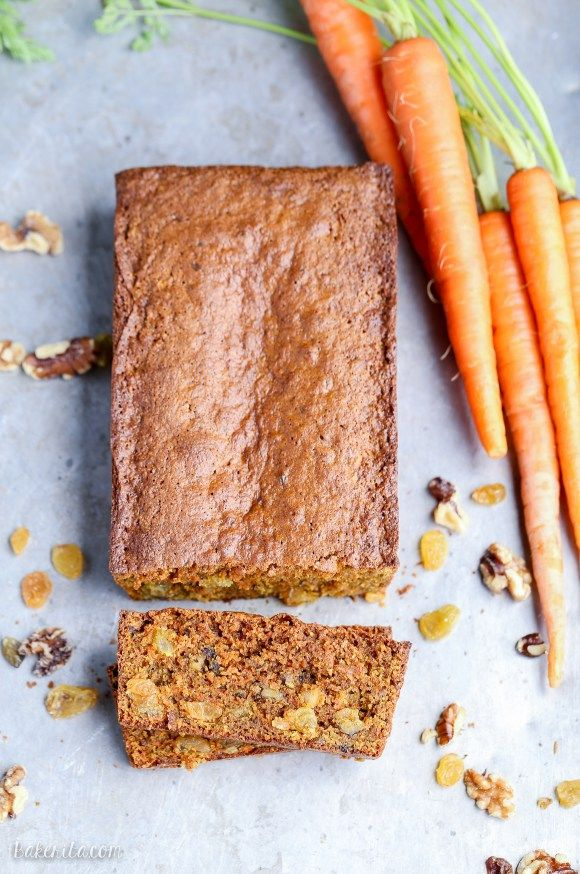 Carrot Bread Recipe With Raisins And Chai Spices Recipe — Dishmaps
