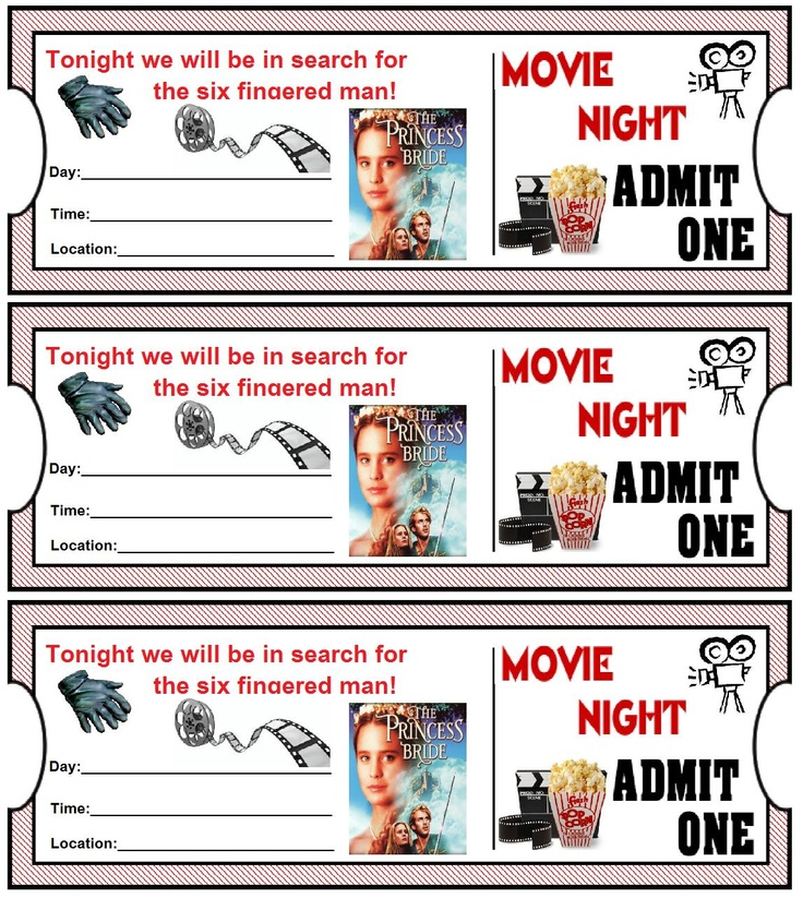 Great Family Date Night Idea with the Princess Bride
