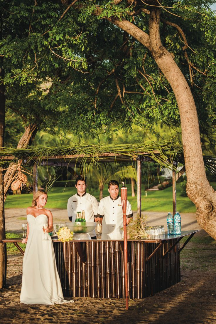 all inclusive beach wedding destinations%0A Destination Wedding Costa Rica  Beach bar at Riu Palace Costa Rica    Weddings by RIU