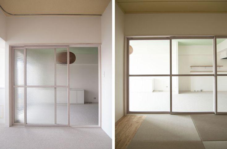 木製ガラス引き戸 pinup碑文谷_03